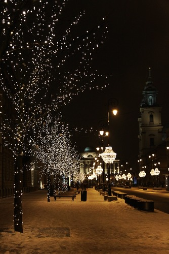 Illumination - Royal Route - Warsaw
